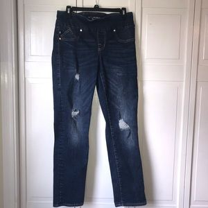Rock & Republic Fever Style Pull On Jeans, sz 8